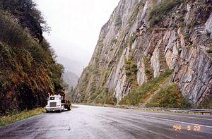 Richardson Highway - Canyon crossing (Richardson Highway)