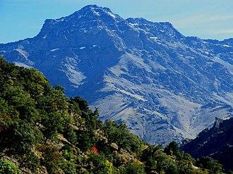 Alcazaba (Sierra Nevada) - Image: Alcazaba North Face