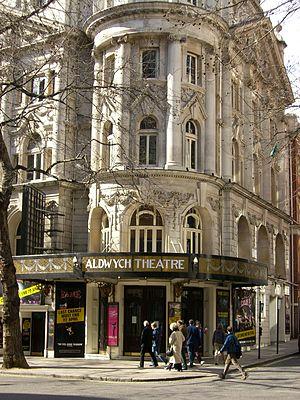 A Bit of a Test - Aldwych Theatre in 2006