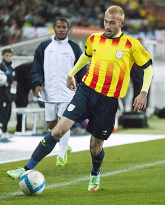 Aleix Vidal - Vidal during his debut match for Catalonia