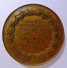 Medaille (Loos 1829), Rückseite (Quelle: Wikimedia)