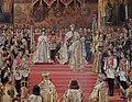 Alexander III and Maria Fedorovna's coronation by G.Becker (1888, Hermitage) detail 02.JPG