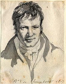 Humboldt 1807 in Berlin (Quelle: Wikimedia)