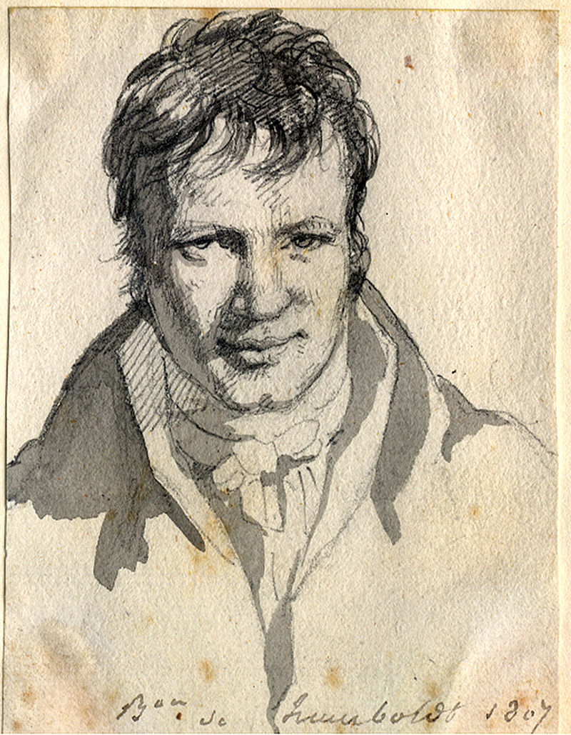 Retrato de Humboldt