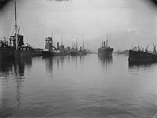 Alexandra Dock looking North, Newport