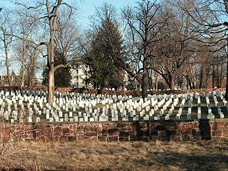 National Register of Historic Places listings in Alexandria, Virginia - Image: Alexandria National Cemetery 5, Alexandria, VA