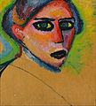 Alexej von Jawlensky - Woman's face - Google Art Project.jpg