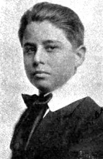 Alfred Newman (composer) - Newman at age 13