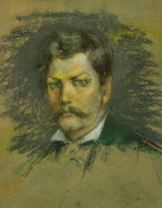 Portrait of Stanley by Alice Pike Barney.