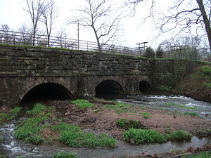 Robeson Township, Berks County, Pennsylvania - Allegheny Aqueduct on the Schuylkill Navigation Canal