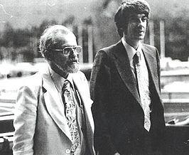 Allen Hynek (links) met Jacques Vallee
