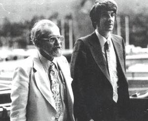 Ufology - Josef Allen Hynek (left) and Jacques Vallée