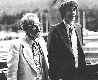 Ufology - Josef Allen Hynek (left) and Jacques Vallée