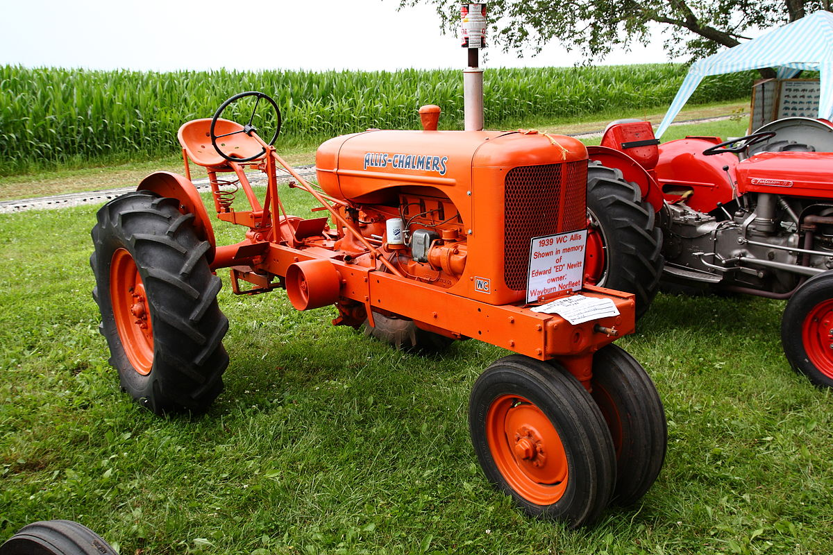 Allis Chalmers Tractor : Allis chalmers model wc wikipedia