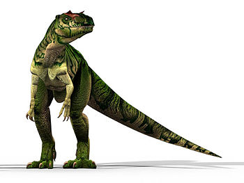 English: Allosaurus
