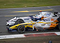 Alonso + Heidfeld 2008 Britain.jpg