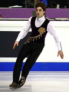 Alper Uçar Turkish figure skater