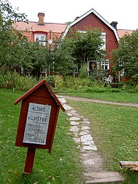 Alsike kloster i september 2005.