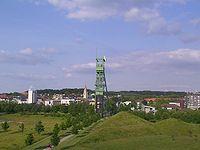 Altstadt Castrop mit Foerderturm Erin.jpg