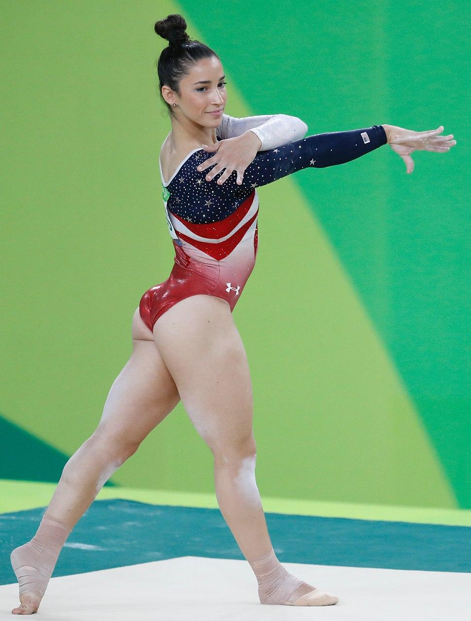 Aly Raisman Rio 2016b
