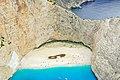 Amazing beach on the island Zakynthos Greece aerial (46419566792).jpg