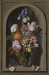Ambrosius Bosschaert the Elder A still life of flowers in a glass beaker.jpg