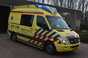 Emergency medical services in the Netherlands - One of the currently used types of ambulance verhicles
