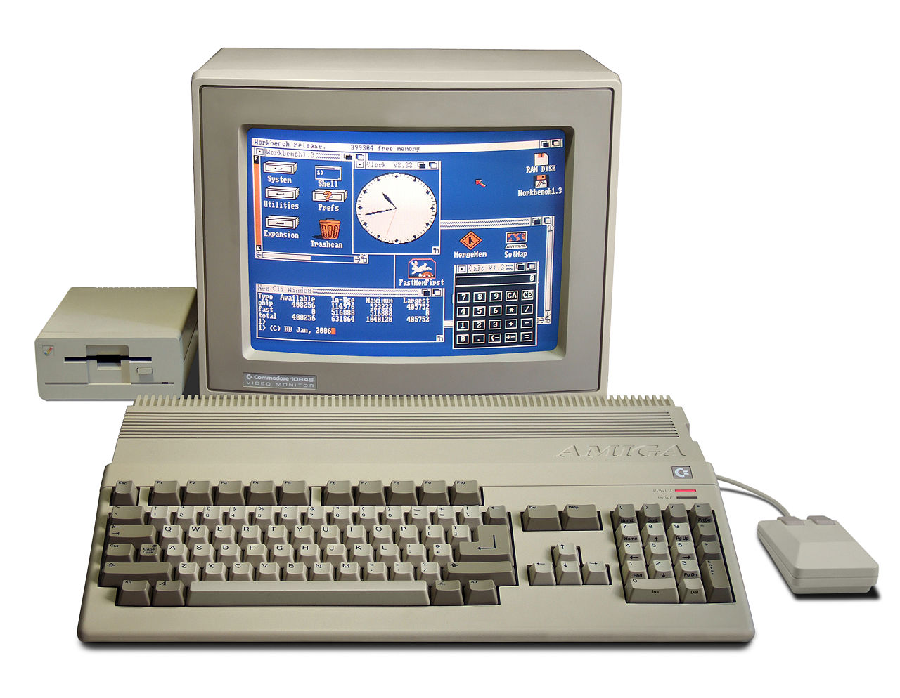 1280px Amiga500 System
