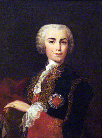 Farinelli - Carlo Broschi Farinelli, wearing the Order of Calatrava, by Jacopo Amigoni c1750-52