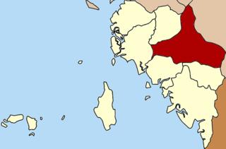 Khuan Kalong District District in Satun, Thailand