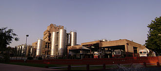 Economy of India - Amul Dairy Plant at Anand, Gujarat, was a highly successful co-operative started during Operation Flood in the 1970s.