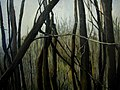 "Amy Feger, ""Panorama at Ebeneezer Swamp""oil on canvas (detail) 2 (3620128468).jpg"