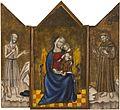 Anônimo - A Virgem com o Menino Jesus, São Jerônimo e São Francisco.jpg