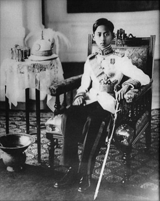Thailand in World War II - Image: Ananda Mahidol portrait photograph