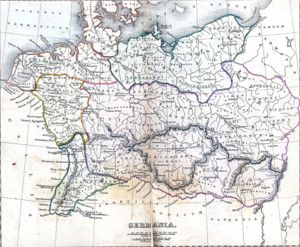Germania - Depiction of Magna Germania in the early 2nd century