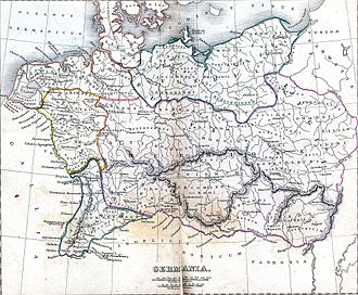 Bremen - Germania, in the early 2nd century (Harper and Brothers, 1849)