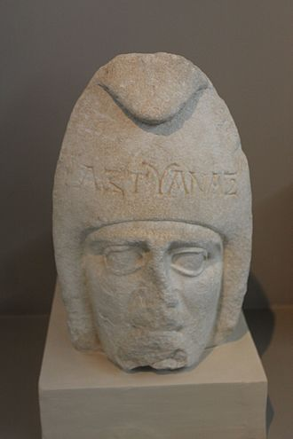 Pantomime - 2nd-century Macedonian theatrical sculpture, thought to represent a pantomime's mask