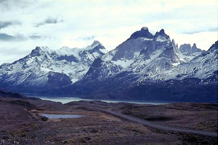 Andes - punta arenas