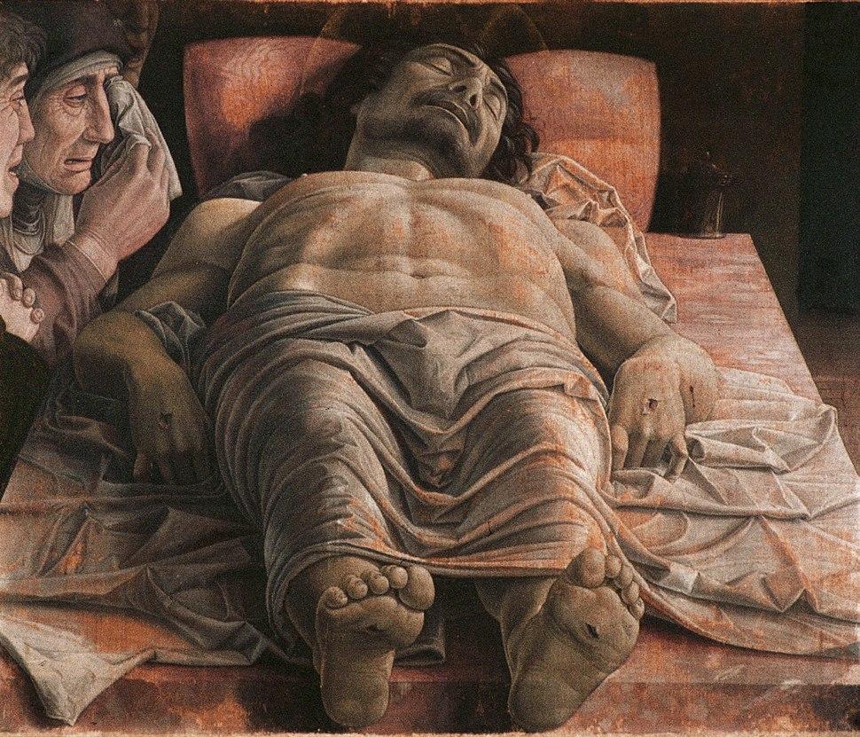 Andrea Mantegna - The Lamentation over the Dead Christ - WGA13981