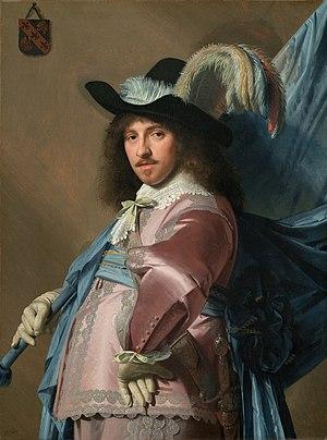 Johannes Cornelisz Verspronck - Image: Andries Stilte as a Standard Bearer