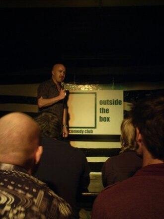 Outside the Box Comedy Club - Image: Andyparsonsoutsideth eboxjpg