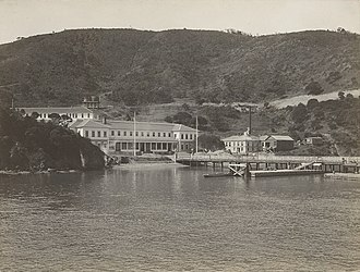 National Register of Historic Places listings in Marin County, California - Image: Angel Island Immigration Station b