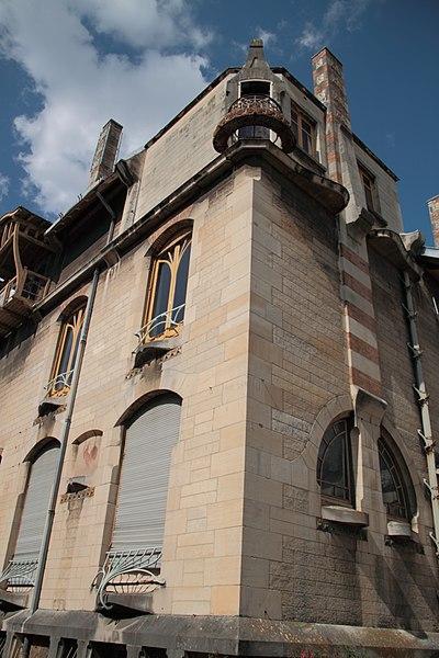 Façade de la Villa Majorelle