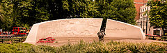 Animals in War Memorial, Hyde Park, London - Aug 2013.JPG