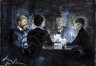 A game of L'hombre in Brøndum's Hotel