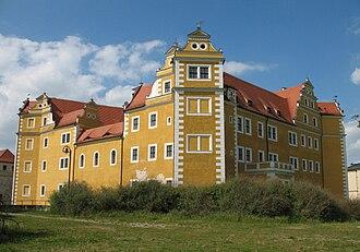 Annaburg - Image: Annaburg Hinterschloss