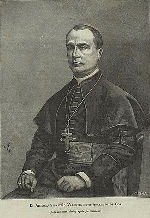 Roman Catholic Archdiocese of Goa and Daman - Dom Sebastião António Valente, first Patriarch of the East Indies.