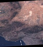 Antelop Valley and surrounding areas Landsat7.jpg