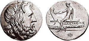 Antigonus III Doson - Coin of Antigonus III Doson.
