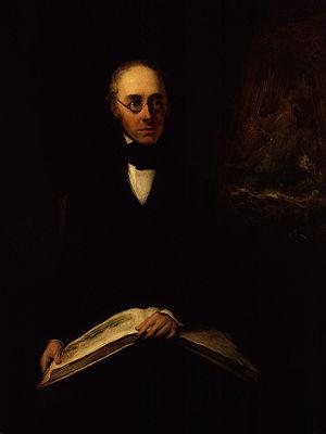 Copley Fielding - Antony Vandyke Copley Fielding by William Boxall (exhibited 1843)